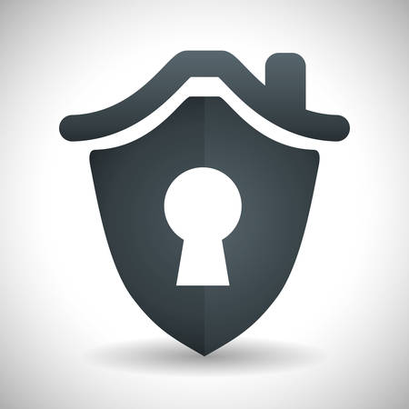 symbolic: Insurance design over white background, vector illustration Illustration