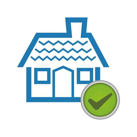 guard house: Insurance design over white background, vector illustration Illustration