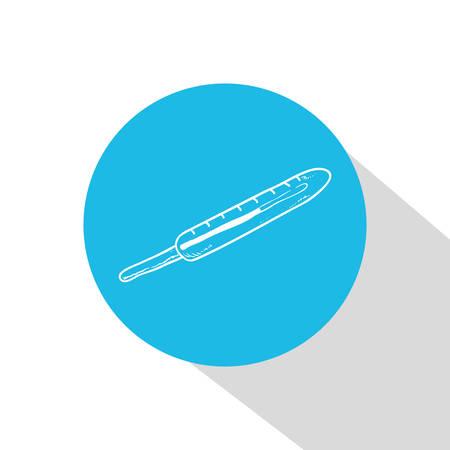 biomedical: Disegno Medical su sfondo bianco, illustrazione vettoriale