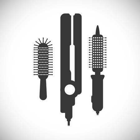hairstylist: Hair Salon digital design, vector illustration eps 10. Illustration