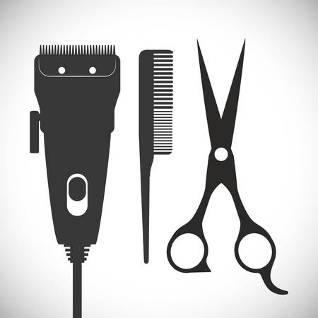 Hair Salon digital design, vector illustration eps 10. Illustration
