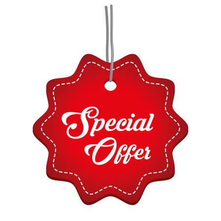 Special offer design, vector illustration eps 10. Illustration