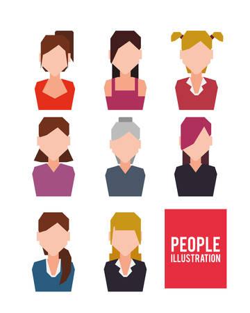 socializing: Social network design, vector illustration eps 10.
