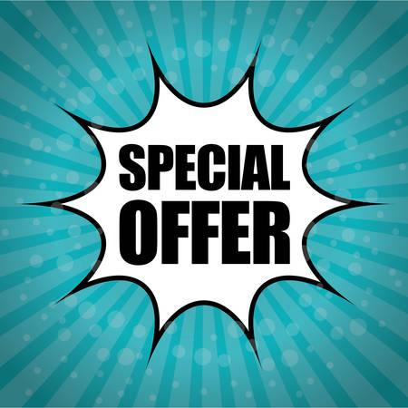 suprise: Special offer design, vector illustration eps 10. Illustration