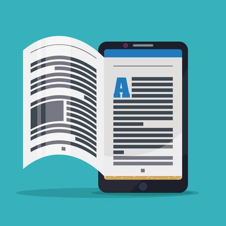 ebook: Ebook digital design, vector illustration eps 10.