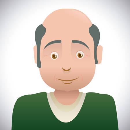 personal profile: Family digital design, vector illustration