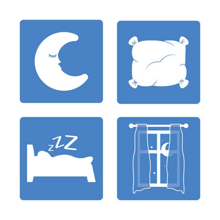 sweet dreams: Sweet dreams design, vector illustration eps 10.