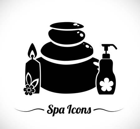 retreat: Spa icons digital design, vector illustration 10 eps graphic Illustration