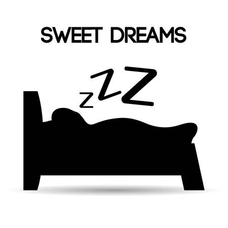zzz: Sweet dreams design, vector illustration eps 10.