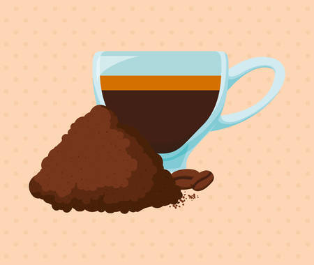 coffee time: Coffee time digital design, vector illustration 10 eps graphic