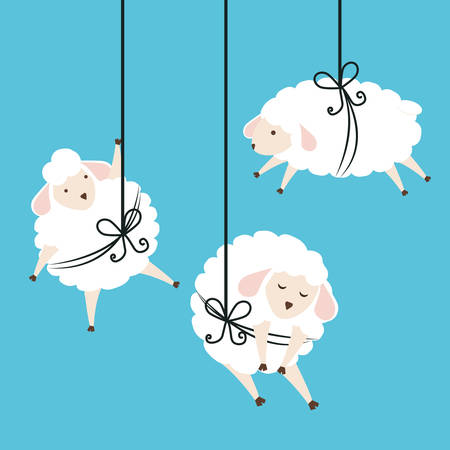 Sweet dreams design, vector illustration eps 10.