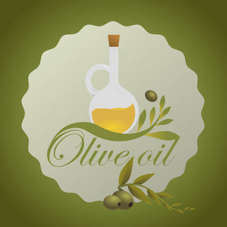alimentation: Olive Oil digital design, vector illustration 10 eps graphic
