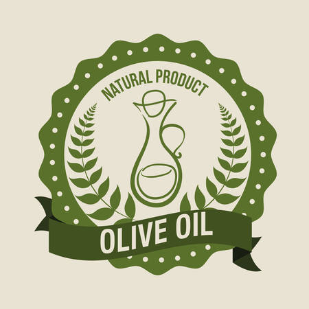 freshness: Olive Oil digital design, vector illustration 10 eps graphic