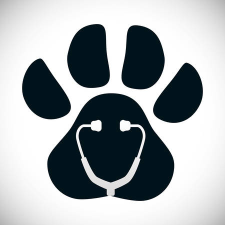 best protection: Pet care digital design, vector illustration 10 eps graphic