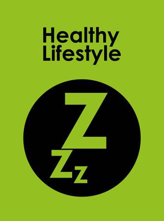 dreamer: Healthy Lifestyle digital design, vector illustration 10 eps graphic