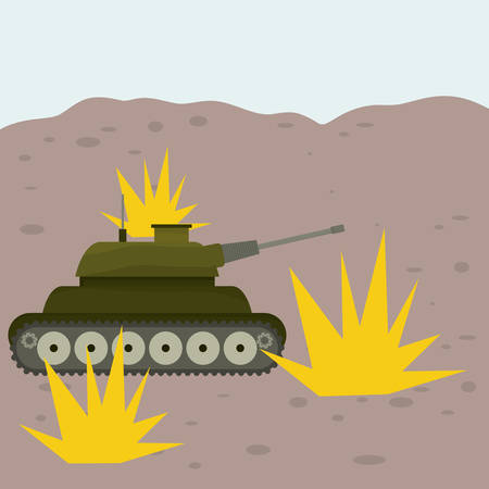 forces: Military Armed Forces digital design, vector illustration 10 eps graphic Illustration