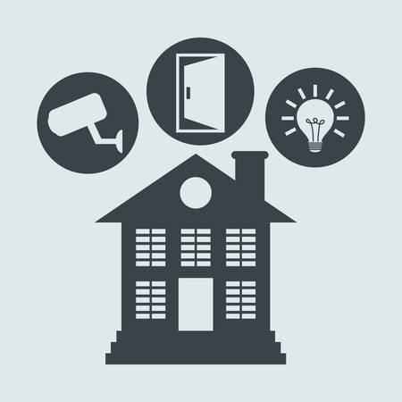 value system: Home Insurance digital design, vector illustration 10 eps graphic