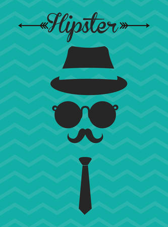 male symbol: Hipster Style digital design, vector illustration 10 eps graphic