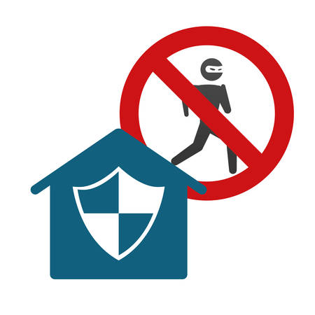 home insurance: Home Insurance digital design, vector illustration 10 eps graphic