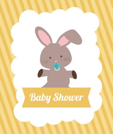 traditional background: Baby Shower digital design, vector illustration 10 eps graphic