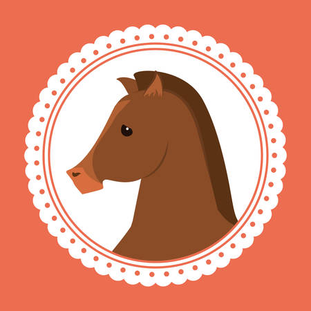 strenght: Horse Riding digital design, vector illustration 10 eps graphic