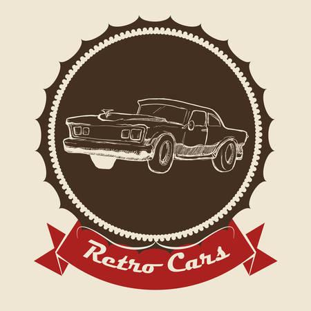 sell car: Garage digital design, vector illustration 10 eps graphic Illustration