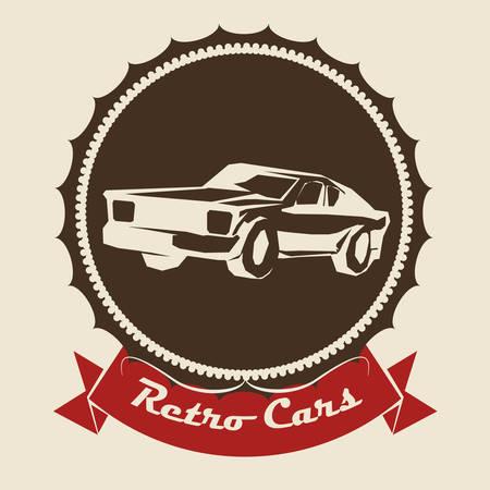 renting: Garage digital design, vector illustration
