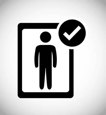 questioning: Survey digital design, vector illustration  Illustration