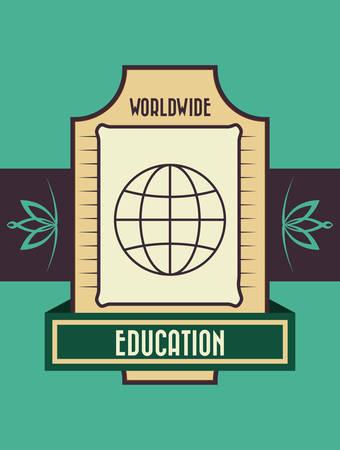 international students: Education digital design, vector illustration 10 eps graphic