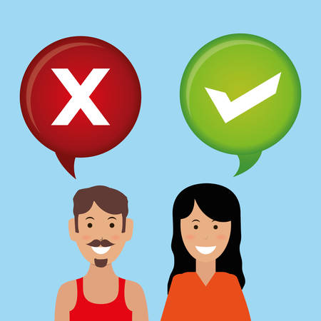 questioning: Survey digital design, vector illustration 10 eps graphic