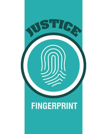 justness: Justice digital design, vector illustration 10 eps graphic
