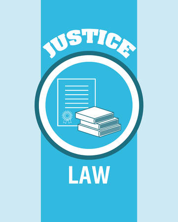 justness: Justice digital design, vector illustration 10 eps graphic
