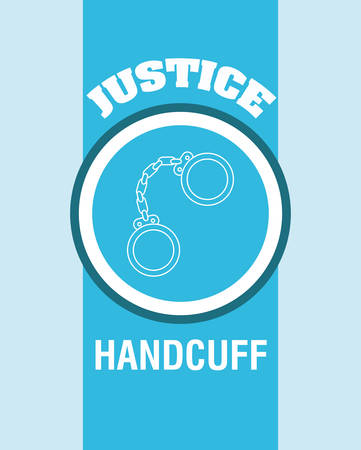justness: Justice digital design, vector illustration