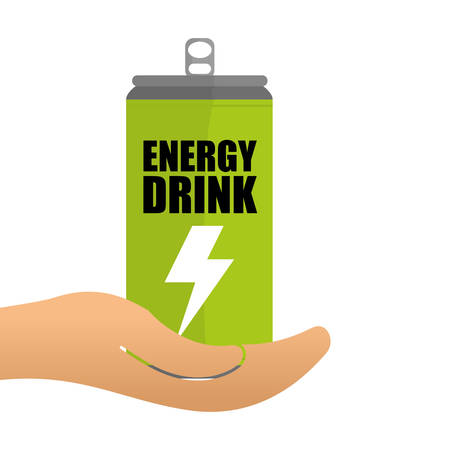 energy drink: Save Energy digital design