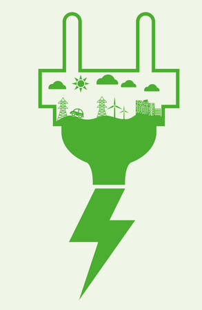 bio energy: Save Energy digital design