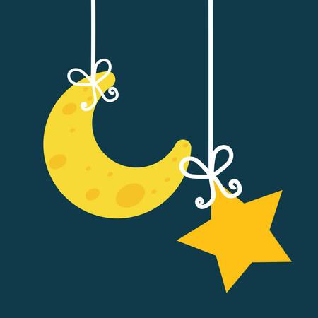 noche y luna: Diseño digital Good Night