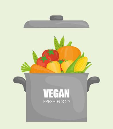 desig: Vegan Food digital desig