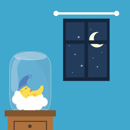 good night: Good Night digital design Illustration