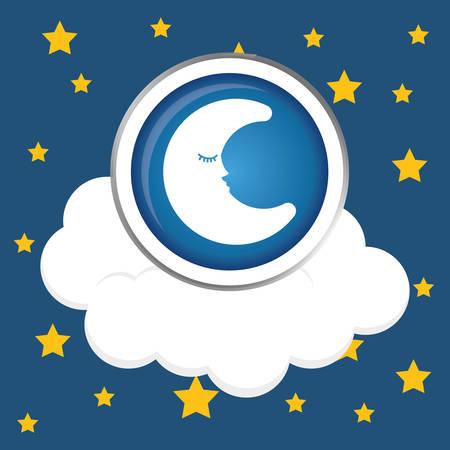 night: Good Night digital design Illustration