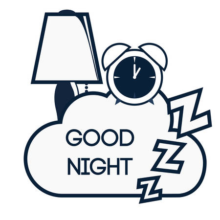 creative arts: Good Night digital design Illustration