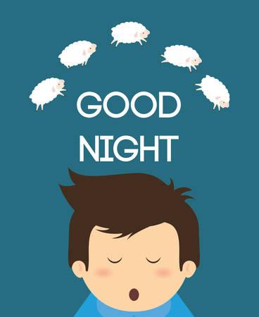 good: Good Night digital design Illustration