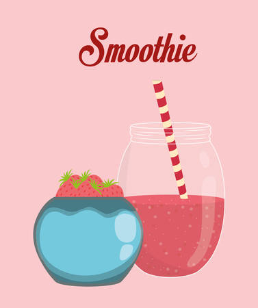 smoothie: Smoothie icon digital design