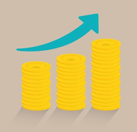money growth: Save money design