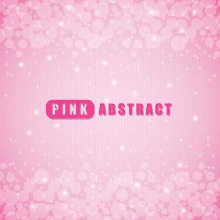 illustration background: Pink digital design