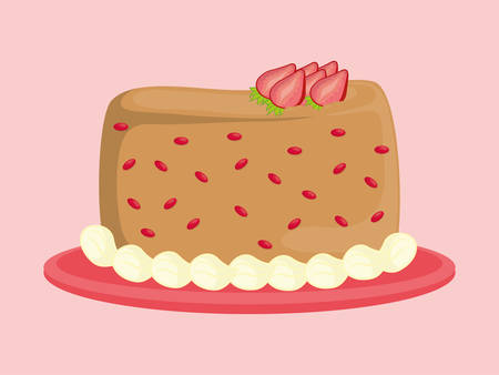 Birthday Cake Images Vektor ~ Dessert cake design royalty free cliparts vectors and stock