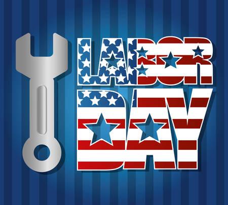 day: Labor day design