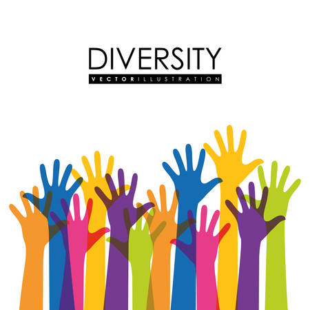 human hand: Diversity people design