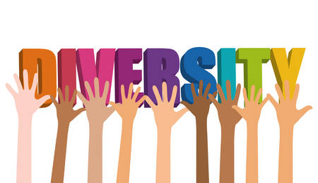 asian afro: Diversity people design