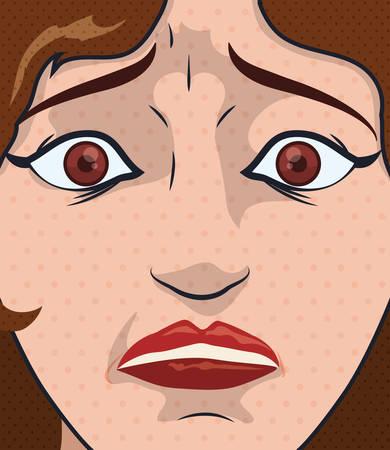 emozioni: Cartone animato emozioni design, illustrazione vettoriale eps 10. Vettoriali