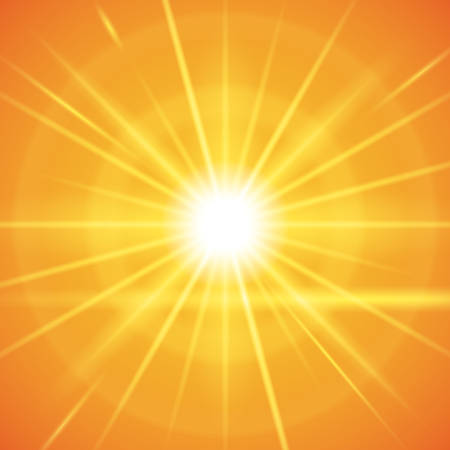 solar flare: Sun rays design, vector illustration eps 10.